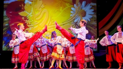 UKRAINA - Kropiwnicki - The dancing theater - On a Visit to Fairy-Tale
